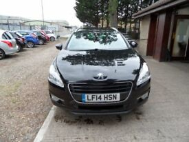 PEUGEOT 508 1.6 HDI SW ACTIVE NAVIGATION VERSION 5d 112 BHP FU (black) 2014