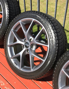"""BBS SR 18"""" Wheels with Michelin X-ice Xi3 Tires"""