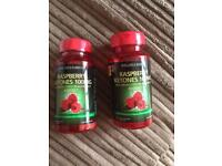Raspberry ketones with green coffee extract