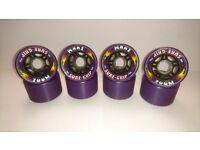 SureGrip Zoom Roller Skate Skateboard Wheels x8