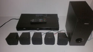 Blueray player and surround sound system