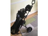 Ram golf clubs bag and trolley