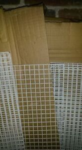 Painted Wire Mesh. 16 Sheets