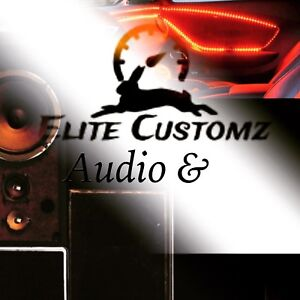 We are your new audio customz shop in town