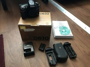 Nikon D610 24Mp body only