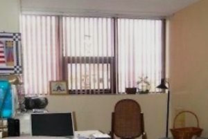 Set of Fabric Vertical Blinds
