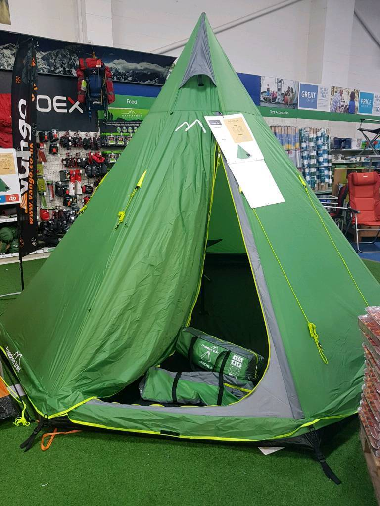 Brand New Freedom Trail Apache 4 Tipi Tent Used Once