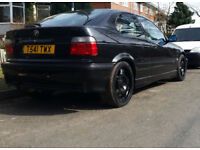 RARE BMW E36 BLACK MSPORT BLUE LEATHER INTERIOR ONLY ONE YOU WILL SEE !!! DRIFT E46 TRACK RACE 328