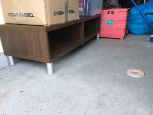 IKEA Besta table with legs (removable)