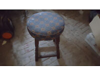 Small Retro Pub Stool - Ideal For Home Bar