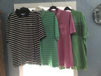 9 XXL men's shirts various designs