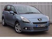 2012 Peugeot 5008 1.6 HDi 115 Active 5 door Diesel People Carrier
