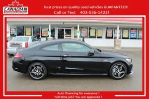 2017 Mercedes-Benz C-Class AMG C 43! $576/SEMI-MONTHLY OAC