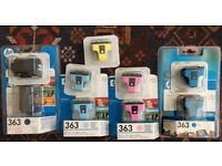 HP Viera 363 ink cartridges