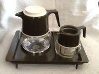 Vintage Pyrex Glass Coffee Jugs