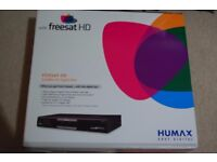 Humax Freesat Satelite HD Ditial Box -