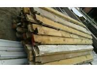 Timber pitch pine joists X 180+.