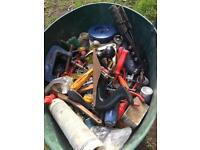 large bucket of assorted tools (1)