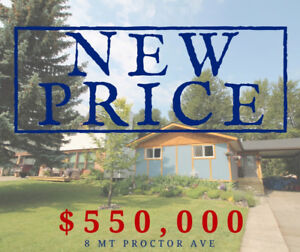 NEW PRICE! 4 Bed 3 Bath Home - Exceptional Location in Fernie