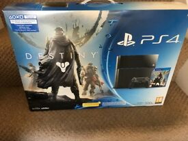 PS4 500gb for sale 2 controllers 6 games