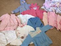 0-3 months girl clothes bundle