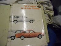 Ford Cortina Mk. 2 - Ford official Workshop manual. 1968.