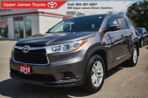 2016 Toyota Highlander LE AWD - Hard to find!