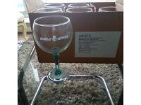 6 Bombay Sapphire Copa Ballon glasses brand new