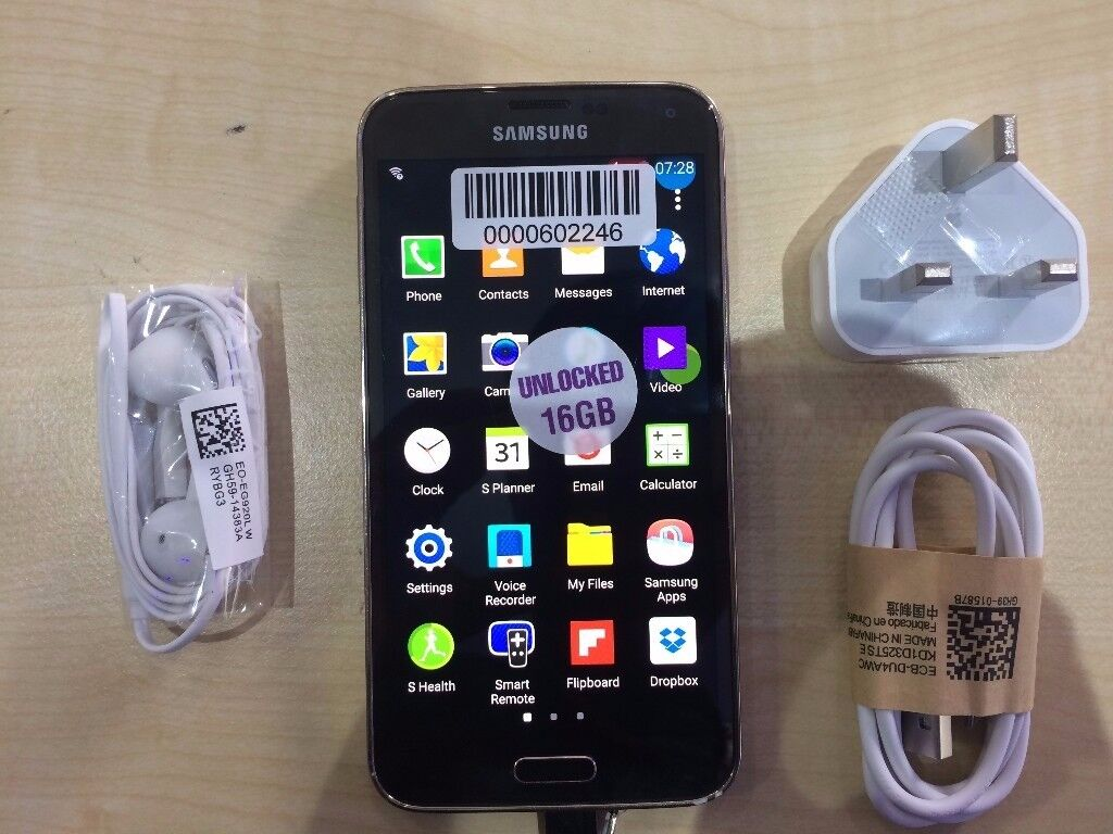 SAMSUNG S5/ VISIT MY SHOPUNLOCKED /GRADE AWARRANTYRECEIPTin East Ham, LondonGumtree - SAMSUNG S5, unlocked to any network, THE phone IS working perfectly and has the memory of 16 GB. The phone is like new and ready to use. VISIT MY SHOP. 556 ROMFORD ROAD E12 5AF METRO TECH LTD. (Right next to Wood grange Overground Station) SHOP OPEN...
