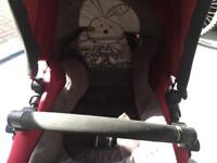 Funny world piper baby buggy stroller