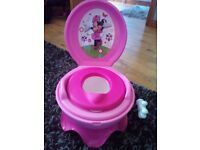 Minnie mouse 3in1 potty system