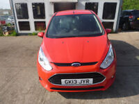 FORD B-MAX ZETEC 1.4 - GK13JYR - DIRECT FROM INS CO