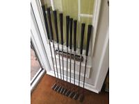 Taylormade Golf Clubs with New Grips