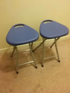 2 Folding Chairs  $20 for both