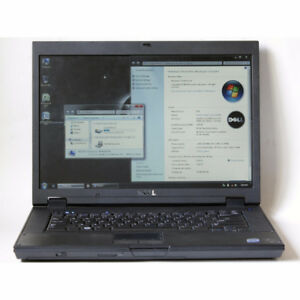 Dell Latitude E5500 Laptop Core2 Duo WiFi 2GB RAM 60GB HDD DVDRW