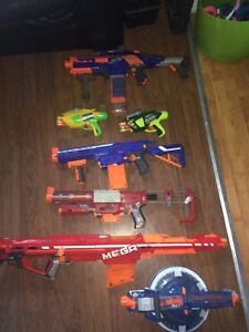Nerf guns, PRICE LOWERED