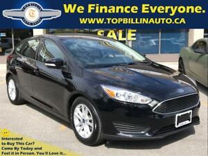 2016 Ford Focus SE Auto, Back-up Camera, Bluetooth Only 15K kms