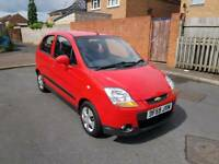 2010 CHEVROLET MATIZ 1.0 SE MANUAL 5 DOOR RED NEW SHAPE LONG MOT LOW MILEAGE BARGAIN