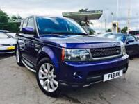 2010 Range Rover Sport HSE 3.0TD V6 **Bali Blue - 69,000 Miles Full History**