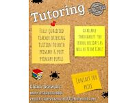 Tutoring for primary/post primary