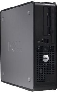 Boitier d' Ordinateur Dell Optiplex 755 Core2 Duo Windows 7