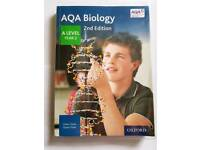 AQA Biology 2nd edition A level Year 2 Student Book by Glenn Toole and Susan Toole (Paperback)