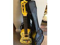 Spongebob Squarepants novelty guitars