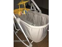 Cradle/baby chair Kindercraft 4in1 yellow!