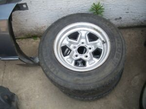 2 14in s-10 wheels and tires