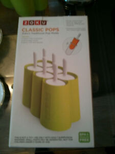 New Zoku's Classic Pop Molds /Moules pour Popsicle