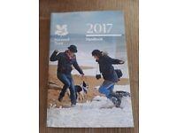 National Trust Handbook 2017. Does not include car sticker.
