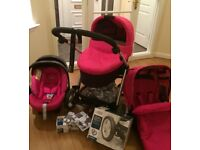 Mamas and Papas Sola2 complete travel system