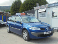 2007 RENAULT 1.5 DCI EXPRESSION ESTATE {FSH} Sold with full mot
