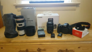Canon EOS 70D Package - Value $3,600